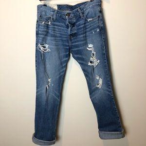 EUC Hollister Men's Distressed Slim Straight Jeans